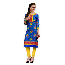 Sinina  Designer Cotton Printed Work Kurti-OG502