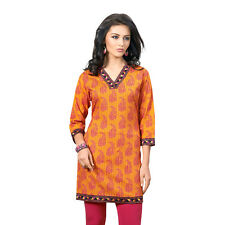 Sinina  Designer Cotton Embroidery Work Kurti-Alice06