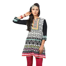 Sinina  Designer Cotton Embroidery Work Kurti-Alice05