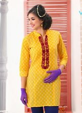 Sinina  Designer Cotton Embroidery Work Kurti-WW02