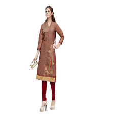Sinina  Designer Cotton Embroidery Work Kurti