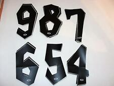 ~ Old School DYNO D-Force BMX Single Number Plate Numbers  4, 5, 6, 7, 8, 9 ~