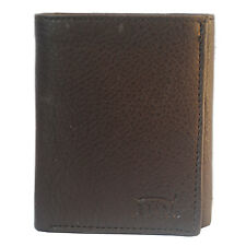 Modish High Quality Tri-fold PU Leather Wallet for Men's - Black/Brown