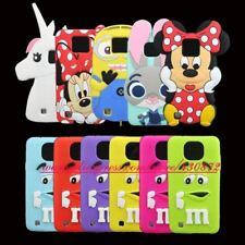 For LG X Cam Case 3D Silicon Minnie Bunny MM Chocolate Candy Bean Cartoon Soft P