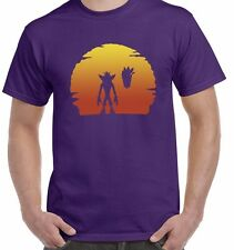 Crash Bandicoot Sunset Unisex T Shirt Tee Aku Aku Gaming Top (6 Colours)
