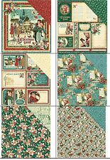 "Graphic45 Christmas Carol Double-Sided Cardstock 12"" doppels.Scrappapier 30,5 cm"