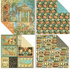 "Graphic45 Artisan Style Double-Sided Cardstock 12"" doppels.Scrappapier 30,5x30,5"