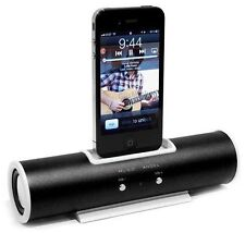 High Quality Tube Dock Speaker Docking Station For Apple iPhone 4/4S iPod Touch