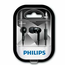 Original Philips SHE1455 Wired Headset Headphones in ear phone With Mic