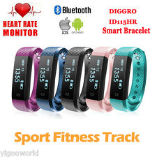 étanche Heart Rate Smart Watch Bracelet Montre Connectée Pédomètre Android iOS