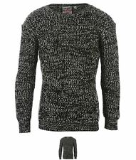NUOVO Lee Cooper Cooper Chunky Knit Jumper Bambina Black