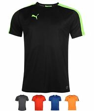 MODA Puma Evo Training T Shirt Mens Red/Black