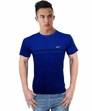 Branded Round Neck T-shirt For Men Stylish Fitted Casual Boys Tshirt