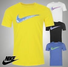 Mens Nike Lightweight Streak Swoosh QTT Athletic Cut T Shirt Crew Top Size S-XXL