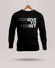 Mens Branded Printed T-shirt Half/Full Sleeve Round Neck Cotton - Forgive