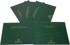 Rolex Oyster Perpetual, Perpetual Date & Datejust Manual Booklet English -Pick 1