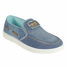 BlackCoal Mens Loafer Canvas Shoes Outdoor Shoes Mens Casual Sneaker Shoes MFS88