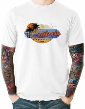 Cali Republic T Shirt Vintage Beach Palm Trees Mens Sizes Small to 6XL and Tall