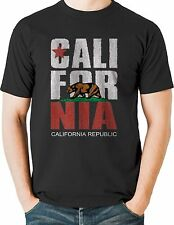 California Republic State Flag T Shirt Mens Sizes Small to 6XL and Tall
