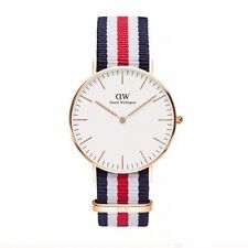 NEW Daniel Wellington Watch Classic Canterbury Rose Gold Timepiece