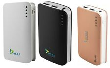 Syska Power Elite 7800 mAh 2 USB Port Lithium-ion Power Bank +DC 5V-2A 7800mah