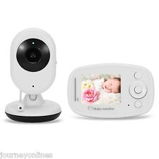 2.4GHz DISPLAY LCD Visione Notturna senza fili Baby Video Monitor NOI / EU/UK