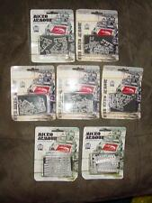 (7) Packs of GHQ Miniatures - RUSSIAN World War Two  Various Unit Lot - New