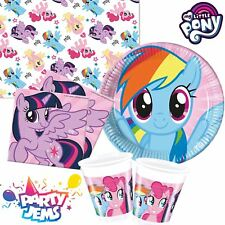 My Little Pony Tableware Children's Birthday Party Plates Cups Napkins