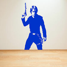 STAR WARS LUKE SKYWALKER Vinilo adhesivo de pared decorativo para habitación