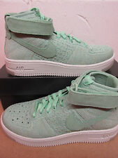 Nike Womens AF1 Air Force 1 Flyknit Hi Top Trainers 818018 301 Sneakers Shoes