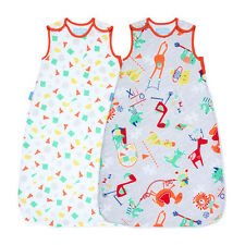 Gro Grobag Sleeping Bag Baby TWO PACK Nursery Child's Play 1 tog 2.5 tog 0-36m