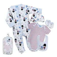 Baby Boys Little Soldier 5 Piece Layette Gift Set Outfit Newborn / 0-3 / 3-6