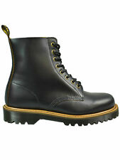 Dr. Martens Doc 8 loch Stiefel Pascal II 2 Vintage Smooth Black 22964001  #5108
