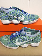 Nike Femmes Flyknit Zoom Agility BASKET COURSE 698616 403 BASKETS CHAUSSURES