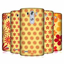 HEAD CASE DESIGNS PATTERN FLOREALE COVER RETRO RIGIDA PER LG TELEFONI 1