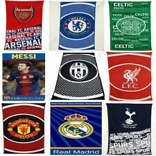 FOOTBALL FC TOWELS - ARSENAL, CHELSEA, BARCELONA, REAL MADRID, MANCHESTER + MORE