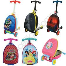 SCOOTIN' SUITCASE 3 IN 1 SCOOTER CARRY CASE TROLLEY - PRINCESS PAW PATROL PEPPA