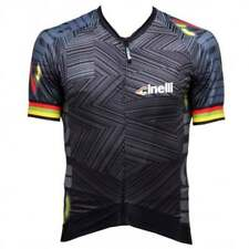 Cinelli Italo '79 Aero Adults Mens Cycle Cycling Retro Jersey - Black
