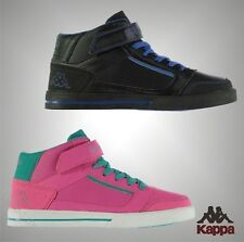 New Juniors Boys Girls Branded Kappa Casual Alphor Lace Up Mid Trainers Size 3-6