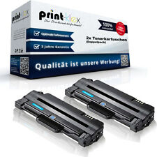 2x Cartucho de toner compatible para Samsung mlt-d105 alternative-drucker Pro