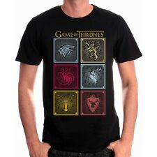 GAME OF THRONES T-Shirt Badges Of The King T-Shirt
