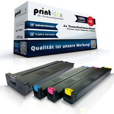 4x Compatible Cartuchos de tinta para Sharp mx50 + MX31 color xxl-drucker Pro