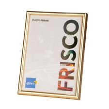 Kenro Frisco Photo Frame Square - Gold Colour Border-Different Sizes to Choose