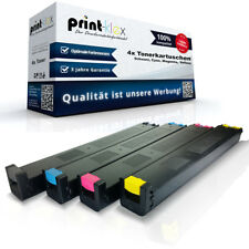 4x Compatible Cartuchos de tinta para Sharp mx-27 Repuesto Color -drucker Pro