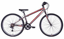 "Tiger Hazard 26"" Wheel Mens 18-Speed Revoshift Mountain Bike - Gunmetal Grey"