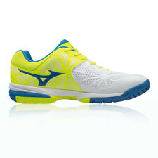 Mizuno Wave Exceed Tour 2 All Mens White Yellow Court Tennis Shoes Trainers