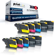 10x Cartuchos de tinta compatibles para Brother lc-223 Set color XL IMPRESORA