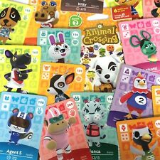 US Amiibo - Animal Crossing - Series 2 Cards Pick Your Own 151-200 Nintendo
