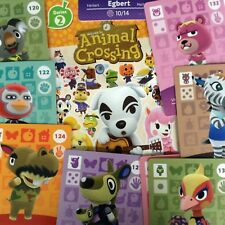 US Amiibo - Animal Crossing - Series 2 Cards Pick Your Own 118-150 Nintendo 3DS