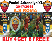 Panini - Adrenalyn XL FIFA 365 2018 AS ROMA #226-243  CORE,FANS FAVOURITE CARDS